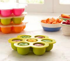 الطريقة الصحيحة لتخزين بيوريه الفواكه للرضيع