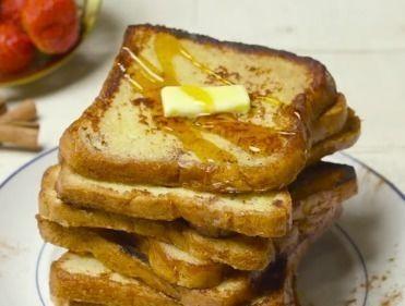 الخبز الفرنسي بالتوست