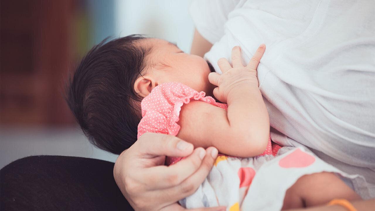 غياب الدورة الشهرية مع رضاعة المولود