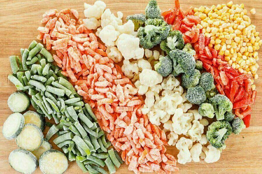 خطوات لتجميد كل أنواع الخضروات لسرعة الطهي فيما بعد