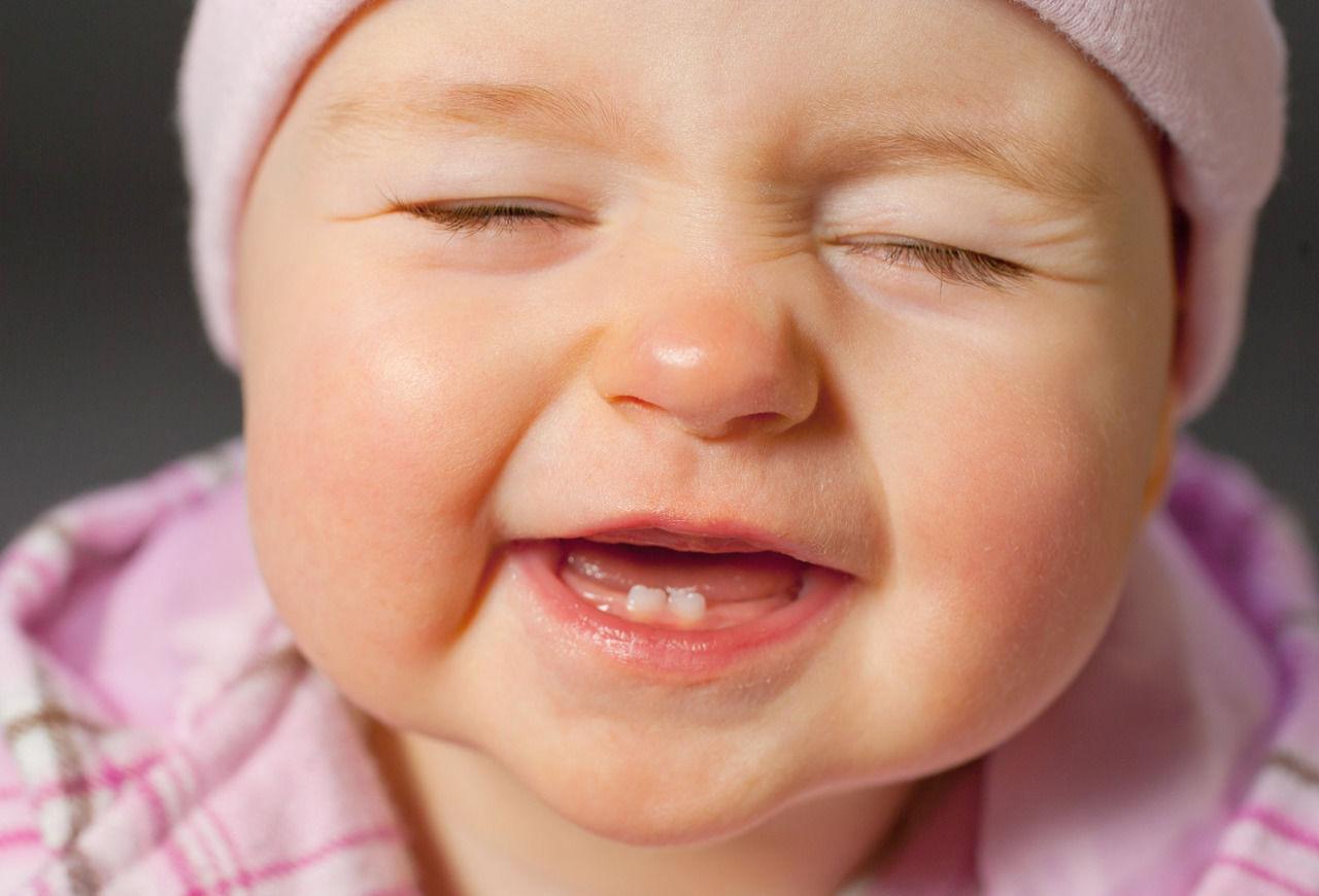 التسنين عند الرضع