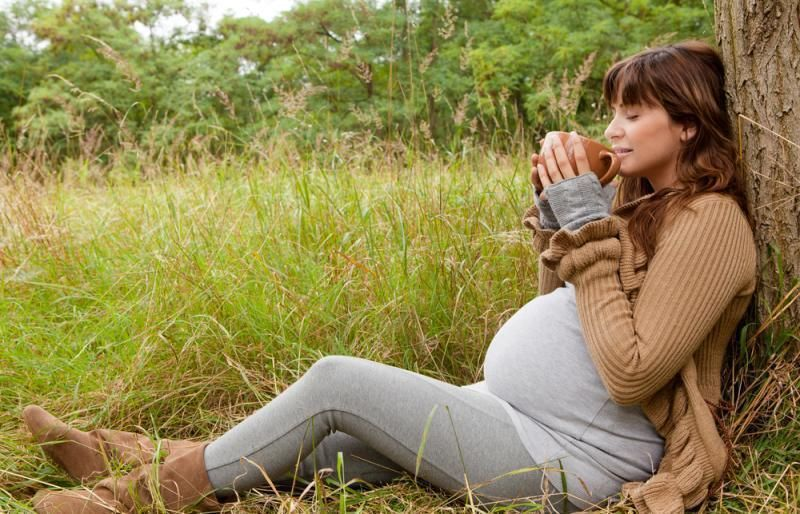 مشروبات لتسهيل الولادة