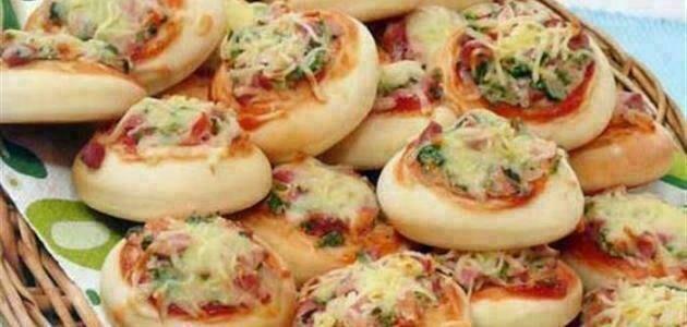 فطاير البيتزا اللذيذة
