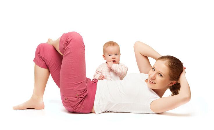 الرياضة بعد الولادة