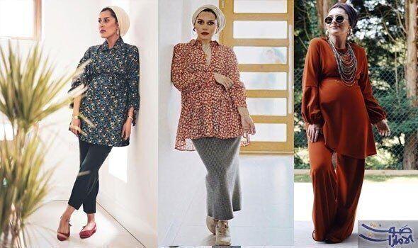 ملابس مناسبة للحامل بالعيد
