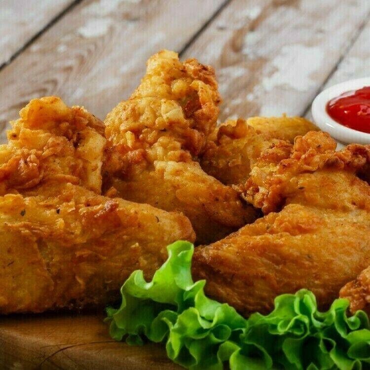 دجاج بروستد مثل المطاعم