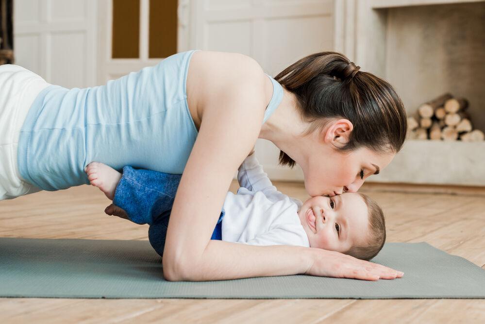 تمارين هامة للأم بعد الولادة