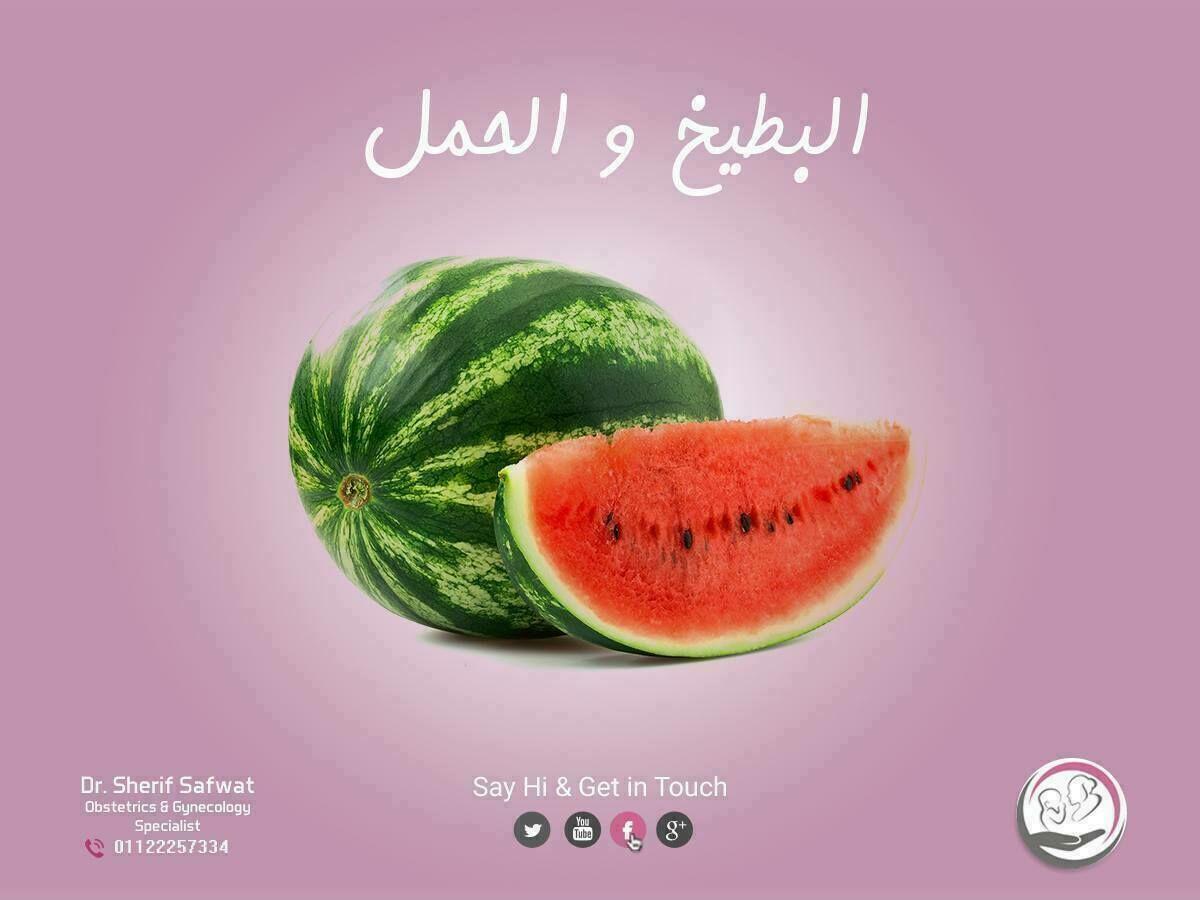 البطيخ والحمل