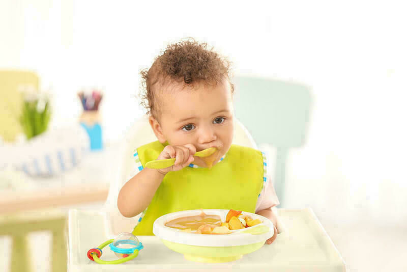 إليك كيفية زيادة وزن الطفل!