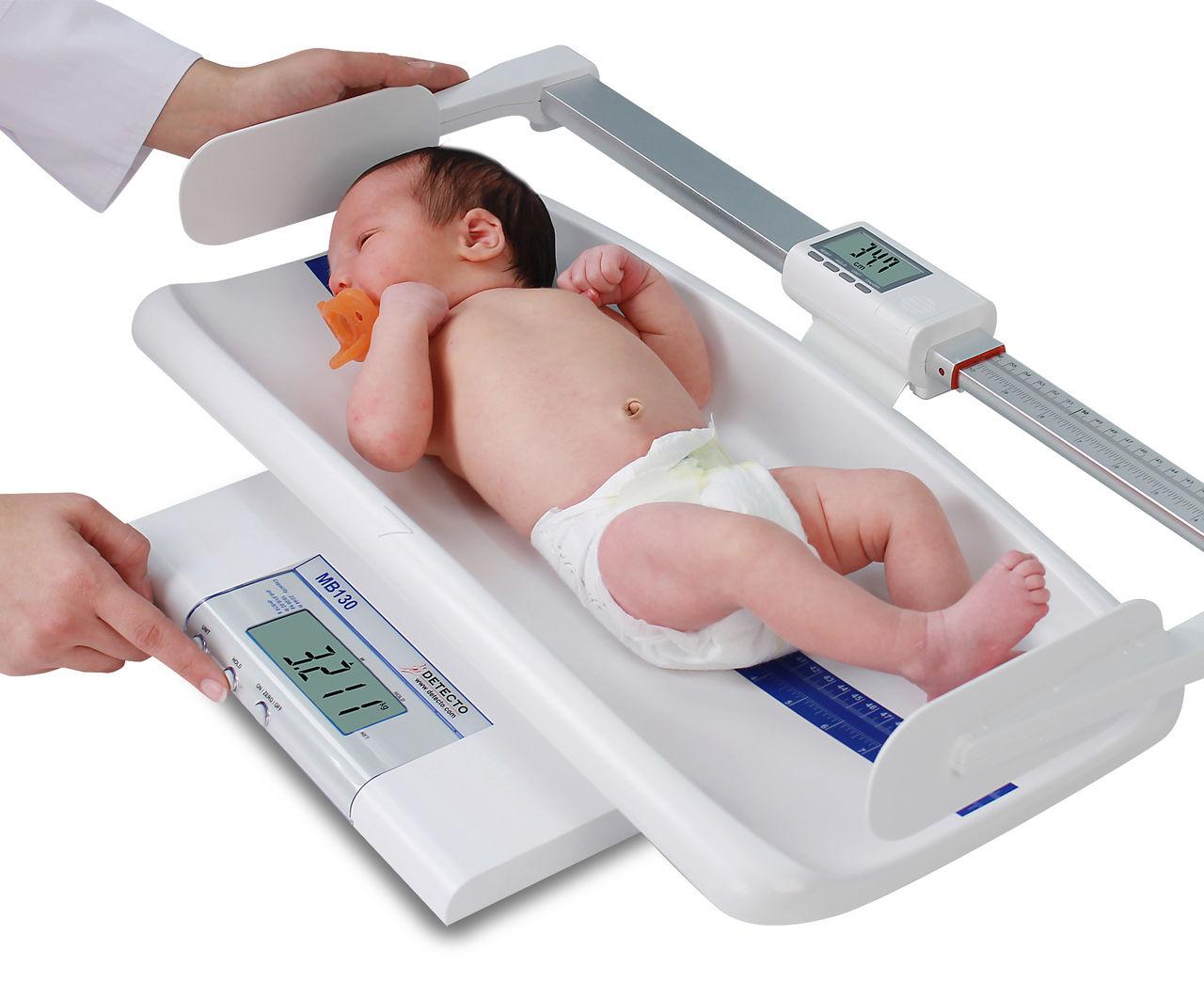 الوزن و الطول الطبيعى للأطفال من الولادة للسنة