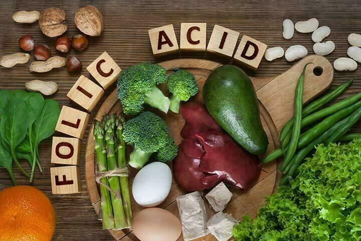 عوضى نقص الفوليك أسيد Folic acid  عن طريق طعامك