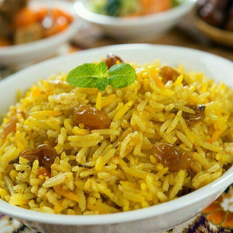 كبسة الأرز بالجزر