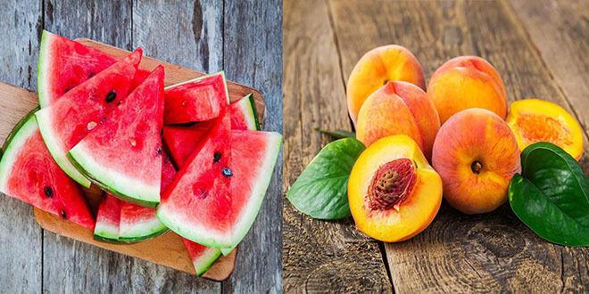 يحذر الأطباء من تناول البطيخ و الخوخ؟؟؟