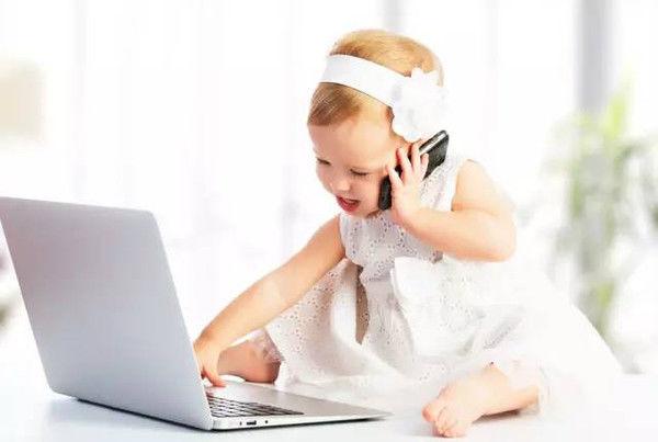 الهواتف الذكية والأطفال