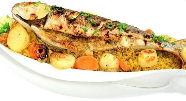 سمك بوري مع الارز
