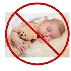 قد تؤدى وضعية نوم الرضيع إلى وفاته