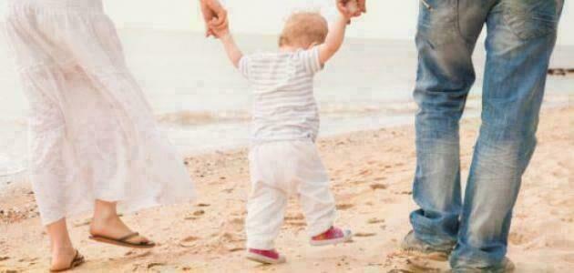 راقبي طريقة مشي طفلك ستعرفين الكثير عنه