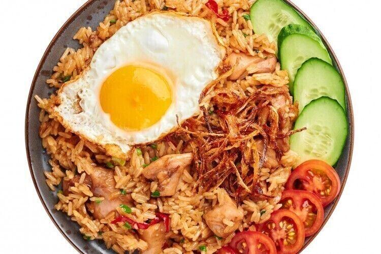 أرز مقلي اندونيسي