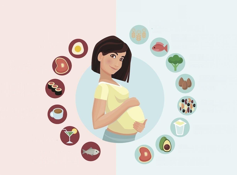 5 نصائح غذائية غريبة للحامل